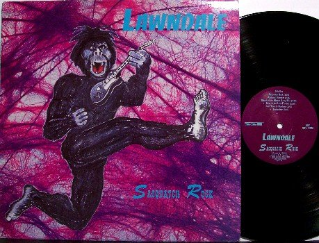 Lawndale - Sasquatch Rock - Vinyl LP Record + Insert - Lawn Dale - Rock