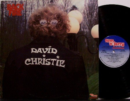 Christie, David - Back Fire - Vinyl LP Record - Backfire - Pop Rock