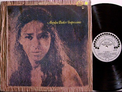 Butler, Angeline - Impressions - White Label Promo - Vinyl LP Record - Rock