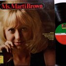 Brown, Marti - Ms. Marti Brown - Vinyl LP Record - Rock
