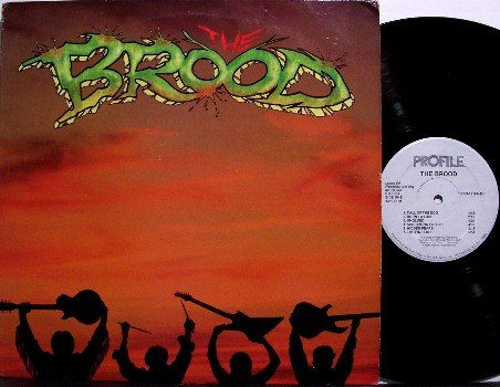 Brood, The - Self Titled - White Label Promo - Vinyl LP Record - Suicidal Tendencies - Rock