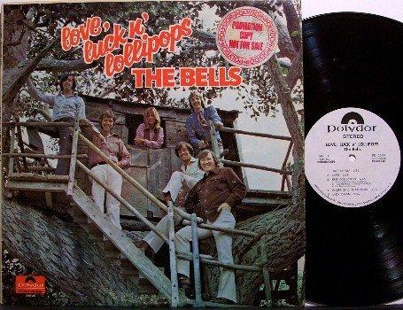 Bells, The - Love Luck N' Lollipops - White Label Promo - Vinyl LP Record - Rock