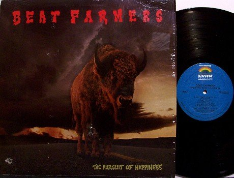 Beat Farmers - The Pursuit Of Happiness - Vinyl LP Record - Rock
