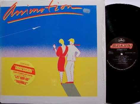 Animotion - Self Titled - Vinyl LP Record - Rock
