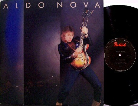 Aldo Nova - Self Titled - Vinyl LP Record - Rock
