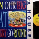 A House - On Our Big Fat Merry Go Round - Vinyl LP Record - Rock