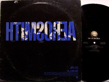 "Aerosmith - Shela - Promo Only - Vinyl 12"" Single Record - Sheila - Rock"