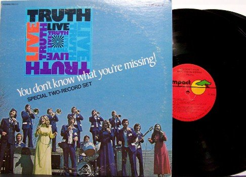 Truth - Live You Don't Know What You're Missing - Vinyl 2 LP Record Set - Christian