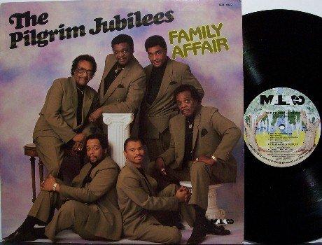 Pilgrim Jubilees, The - Family Affair - Vinyl LP Record - Christian Gospel