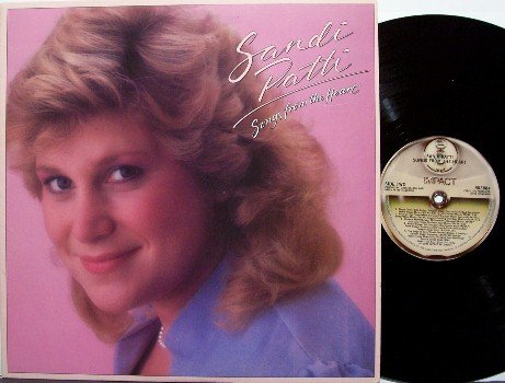 Patti, Sandi - Songs From The Heart - Vinyl LP Record - Sandy Patty - Christian