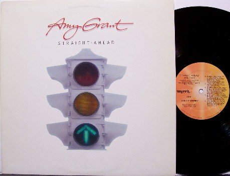 Grant, Amy - Straight Ahead - Vinyl LP Record - Christian