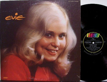 Evie - Self Titled - Vinyl LP Record - Christian