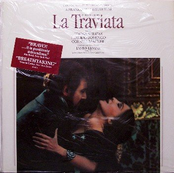 La Traviata - Soundtrack - Sealed Vinyl 2 LP Record Set - Placido Domingo - OST