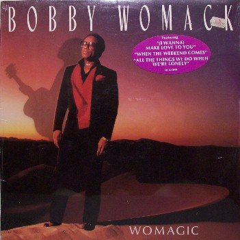 Womack, Bobby - Womagic - Sealed Vinyl LP Record - R&B