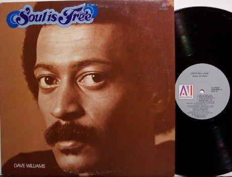 Williams, Dave - Soul Is Free - Vinyl LP Record - Disco R&B