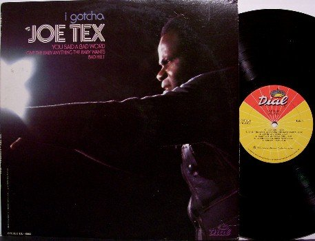Tex, Joe - I Gotcha - Vinyl LP Record - R&B Soul Funk