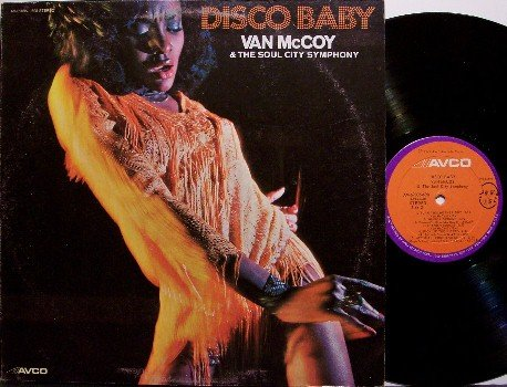 McCoy, Van - Disco Baby - Vinyl LP Record - with The Hustle - R&B