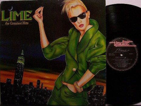 Lime - The Greatest Hits - Vinyl LP Record - Canada Pressing - R&B Disco Funk