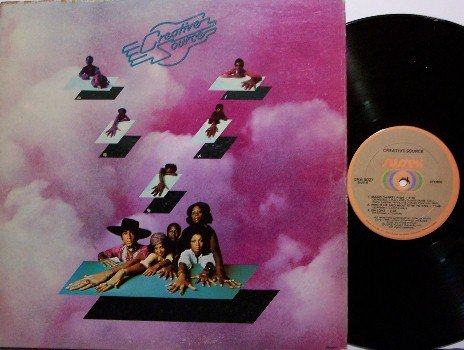 Creative Source - Self Titled - Vinyl LP Record - Sussex Label - R&B Soul