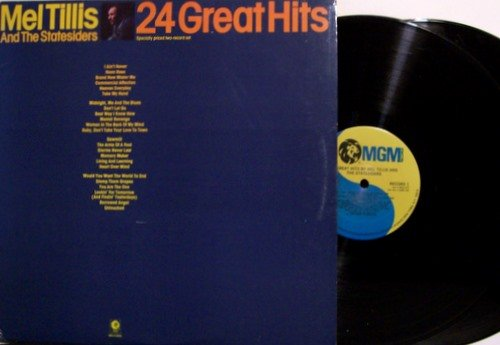Tillis, Mel & The Statesiders - 24 Great Hits - Best Of - Vinyl 2 LP Record Set - Country