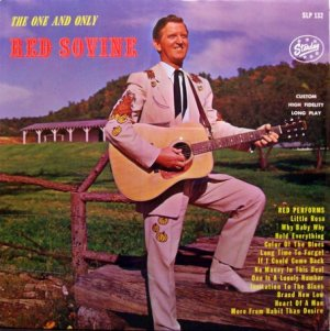 Sovine, Red - The One And Only - Sealed Vinyl LP Record - Country