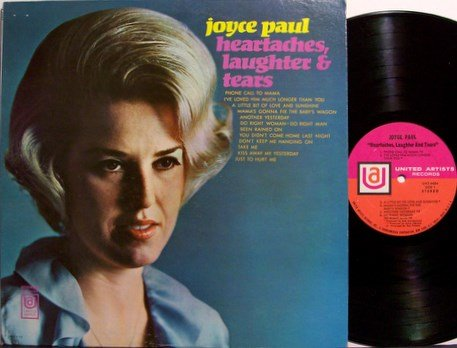 Paul, Joyce - Heartaches Laughter & Tears - Vinyl LP Record - Female Country