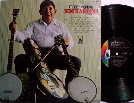 Morgan, Freddie - Bunch A Banjos - Vinyl LP Record - Mono - Banjo Country