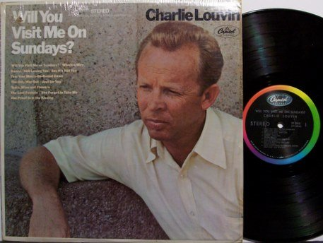 Louvin, Charlie - Will You Visit Me On Sundays - Vinyl LP Record - Louvin Brothers - Country