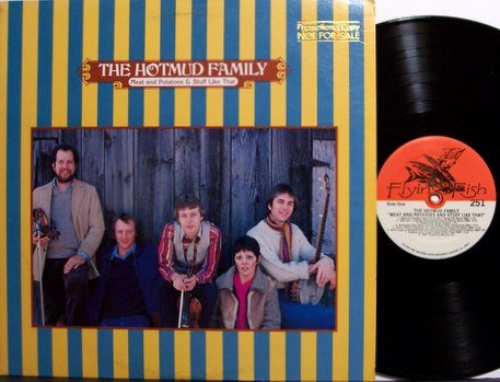 Hotmud Family, The - Meat And Potatoes & Stuff Like That - Vinyl LP Record + Insert - Bluegrass