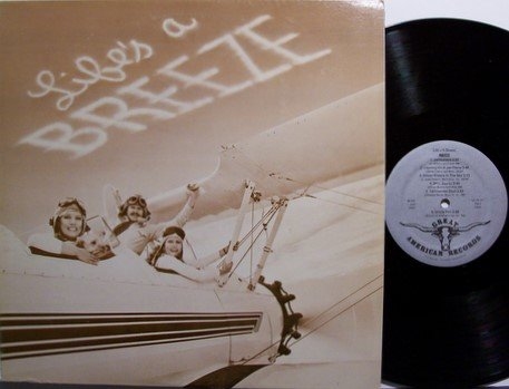 Breeze - Life's A Breeze - Signed - Vinyl LP Record - Private Country