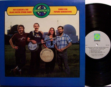 Scanlon, Pat - Songs For Future Generations - Vinyl LP Record - Rounder Label - Folk