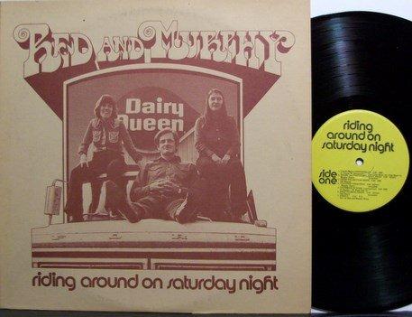Red & Murphy - Riding Around On Saturday Night - Vinyl LP Record - Bluegrass