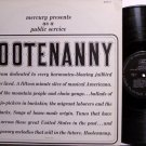 Hootenanny - Mercury Records Vintage Americana Promo Release with Emcee - Vinyl LP Record - Folk