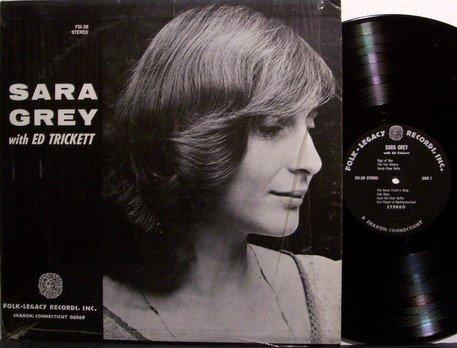 Grey, Sara - With Ed Trickett - Vinyl LP Record - Female Folk