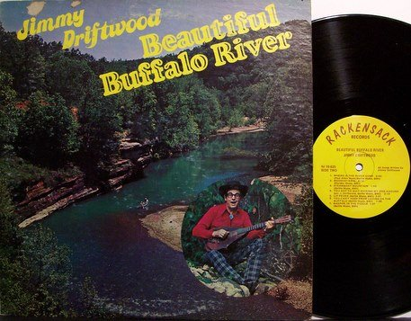 Driftwood, Jimmie - Beautiful Buffalo River - Vinyl LP Record - Swamp Folk
