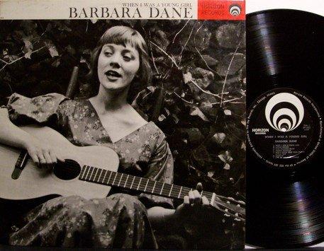 Dane, Barbara - When I Was A Young Girl - Vinyl LP Record - Female Folk