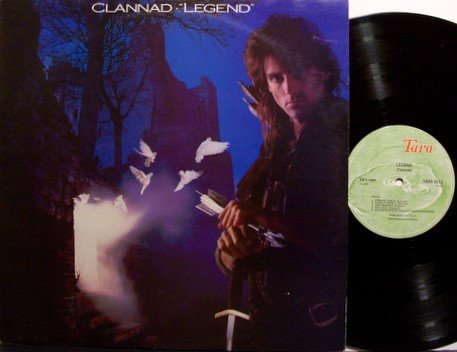 Clannad - Legend - Vinyl LP Record + Insert - Ireland Pressing - Irish Folk