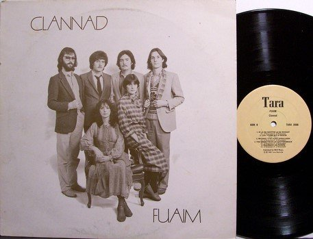 Clannad - Fuaim - Vinyl LP Record + Insert - Ireland Pressing - Irish Folk