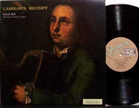 Bell, Derek - Carolan's Receipt - Vinyl LP Record + Insert - Irish Folk