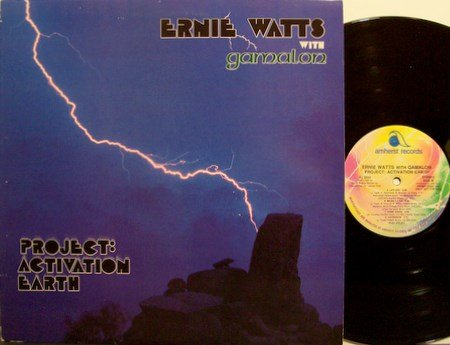 Watts, Ernie With Gamalon - Project Activation Earth - Vinyl LP Record - Promo - Jazz