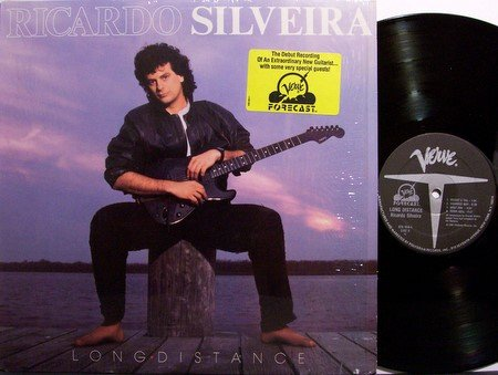 Silveira, Ricardo - Long Distance - Vinyl LP Record - Latin Guitar Jazz