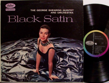 Shearing, George Quintet - Black Satin - Vinyl LP Record - Capitol Mono - Exotic Jazz