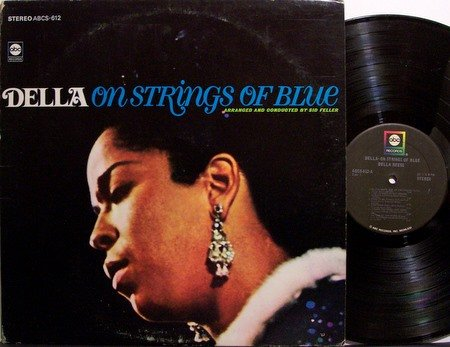 Reese, Della - On Strings Of Blue - Vinyl LP Record - Ray Brown / Ed Thigpen etc - Jazz