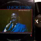 Prysock, Arthur - Unforgettable - Vinyl LP Record - R&B Jazz