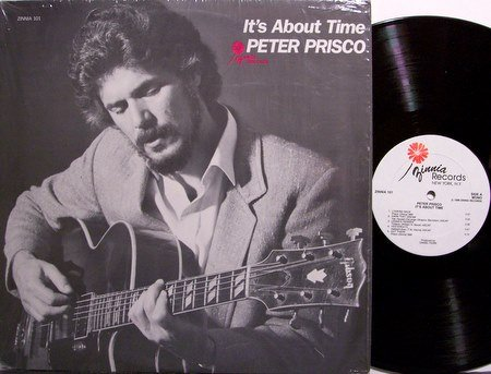 Prisco, Peter - It's About Time - Vinyl LP Record - Private New York Jazz
