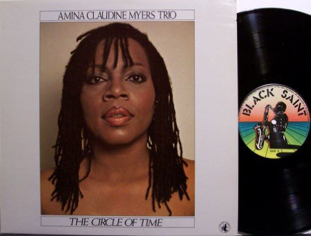 Myers Trio, Amina Claudine - The Circle Of Time - Vinyl LP Record - Italy Pressing - Jazz
