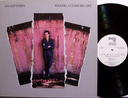 Matthews, Ian - Walking A Thin Line - Vinyl LP Record + Inserts - Windham Hill New Age Jazz
