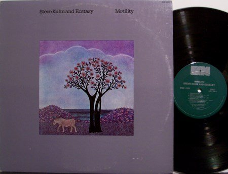 Kuhn, Steve and Ecstasy - Motility - VInyl LP Record - & - Jazz