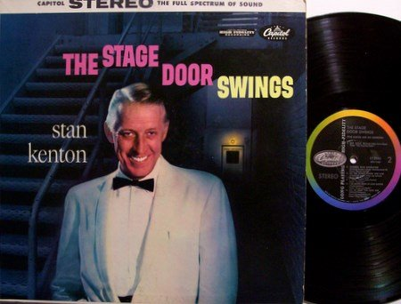 Kenton, Stan - The Stage Door Swings - Vinyl LP Record - Jazz