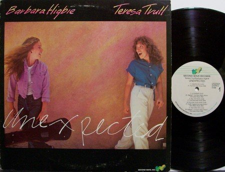 Higbie, Barbara & Teresa Trull - Unexpected - Vinyl LP Record - Female Jazz